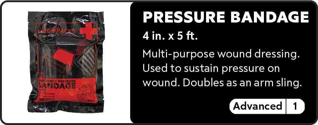 Pressure bandage