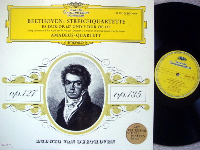 DGG / Beethoven String Quartets Op.127 & 135, - AMADEUS QUARTET, MINT!