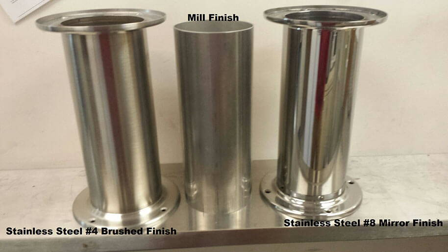 Metal comparison for draft beer towers and draft beer trays for stainless steel