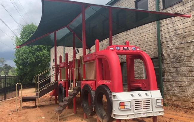 Fire Truck Playground