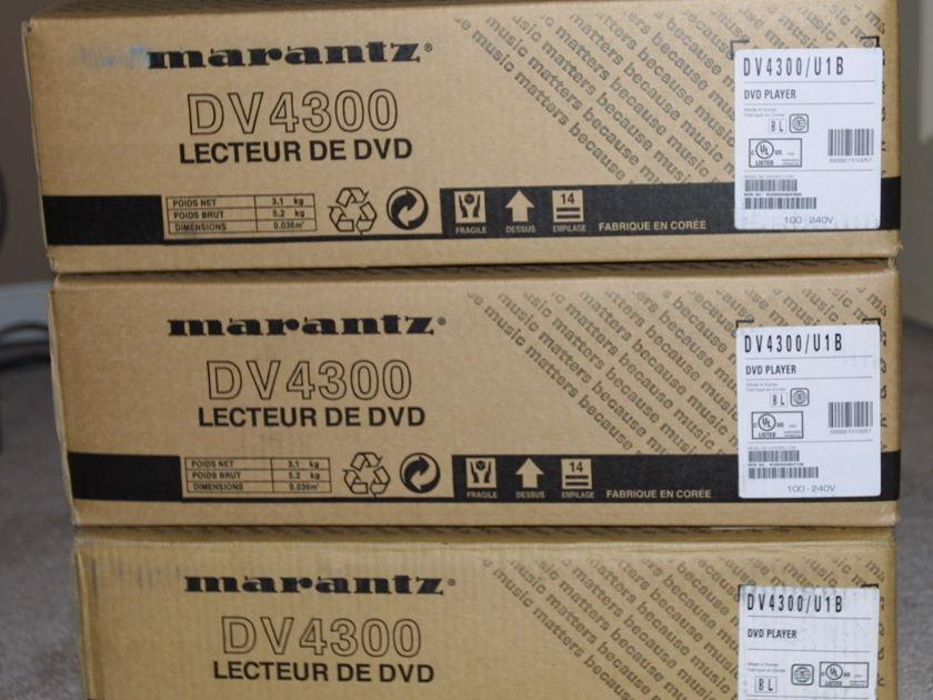 MARANTZ DV4300 BLUE RAY DVD PLAYER