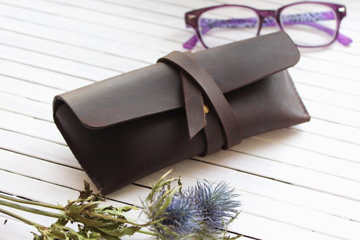 Чехол для очков Wess / шоколад