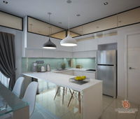 closer-creative-solutions-modern-malaysia-selangor-dry-kitchen-wet-kitchen-3d-drawing