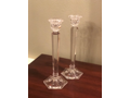 Shannon Crystal ʺHarmonyʺ 10ʺ Candlestick Pair by Godinger