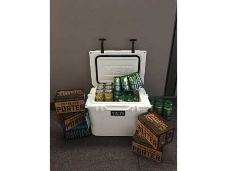 Yeti Cooler + 1 Year of Beer