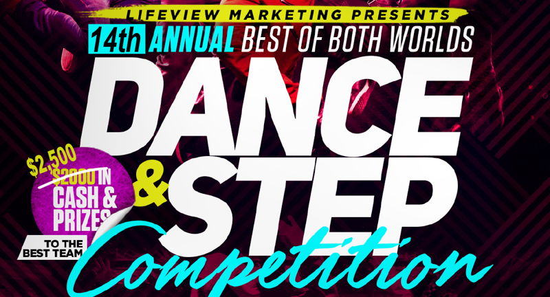 Best of Both Worlds Dance and Step Competition