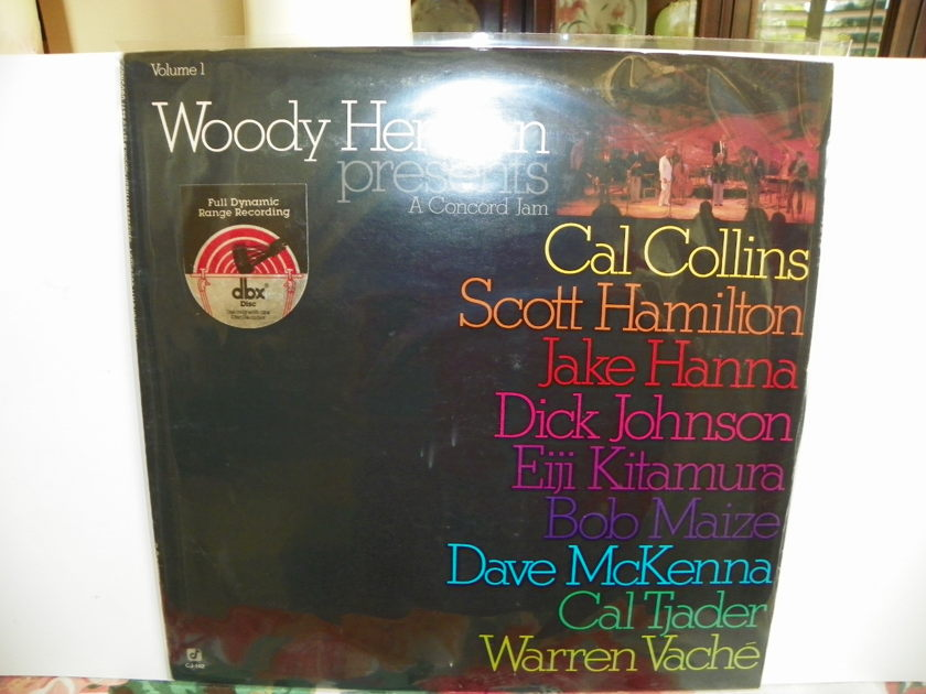 WOODY HERMAN - A CONCORD JAM VOL.1 dbx ENCODED-Recorded Live/Price Reduction