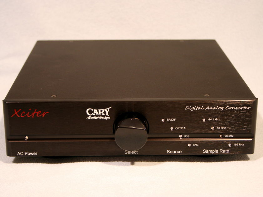 Cary Audio Xciter DAC like new