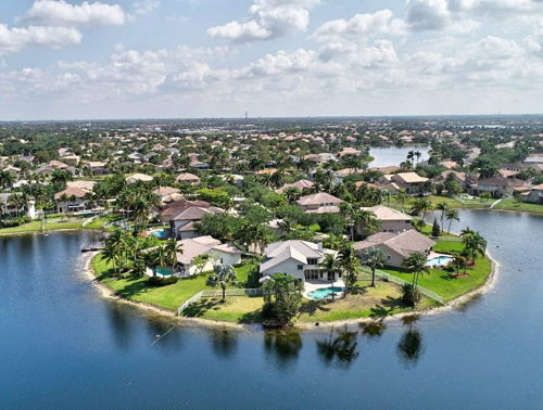 skyview of Pembroke Pines