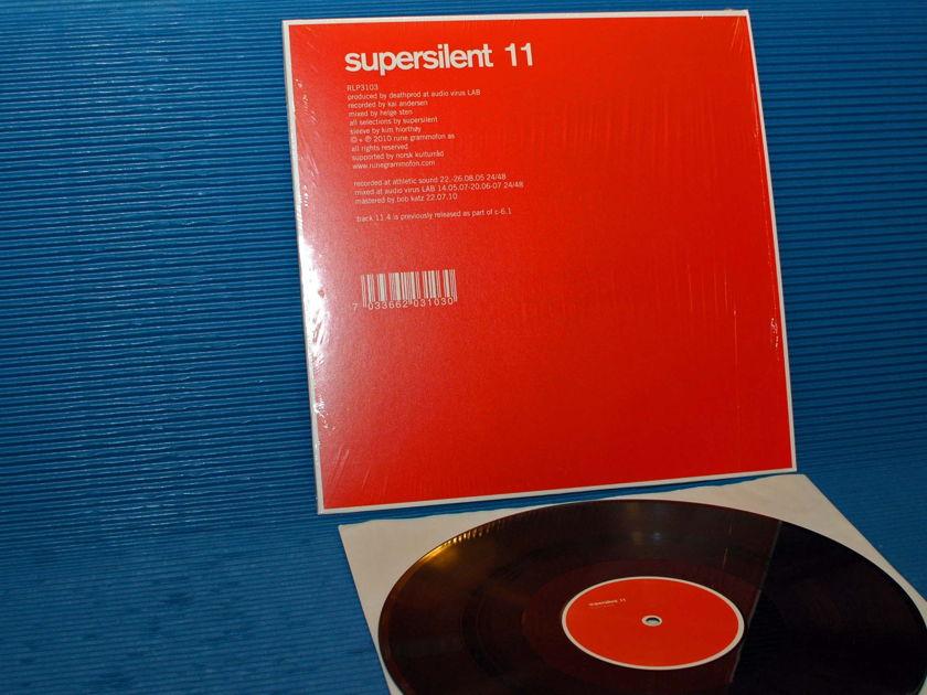 """SUPERSILENT  - """"11"""" -  Rune Grammofon 2010 200 gr pressing D-D"""