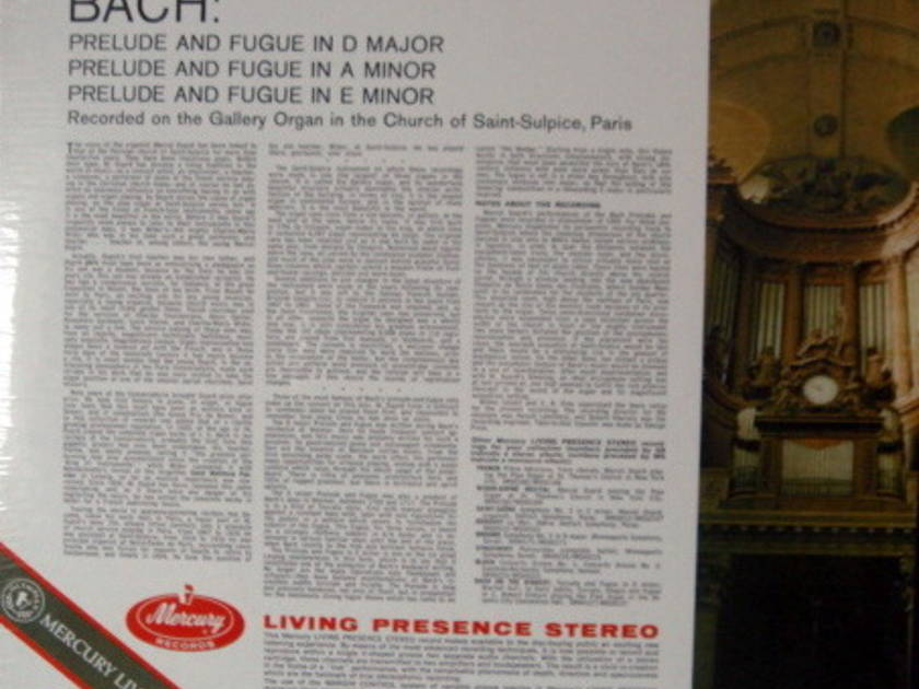 ★Sealed★ Mercury / DUPRE, - Bach at Saint Sulpice, Vol.1, Original, Color-Back!
