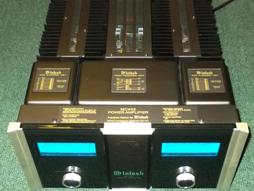MCINTOSH MC402 AMPLIFIER ** MONSTER AMP STEREO/MONO ** LEGENDARY SOUND & POWER