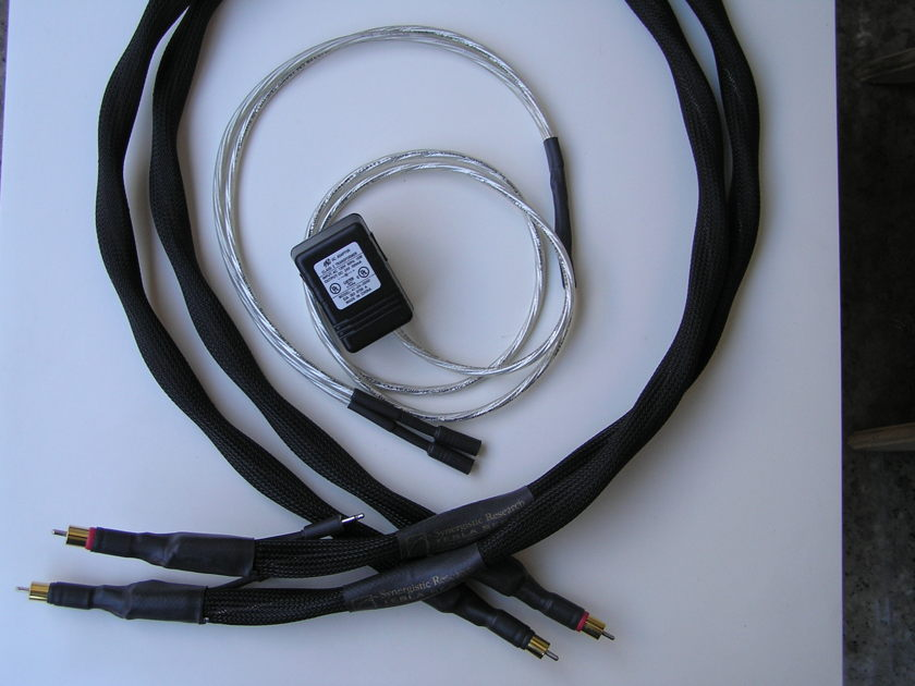 Synergistic Research Tesla Apex Interconnect 1.5 m RCA Pair,  From Europe