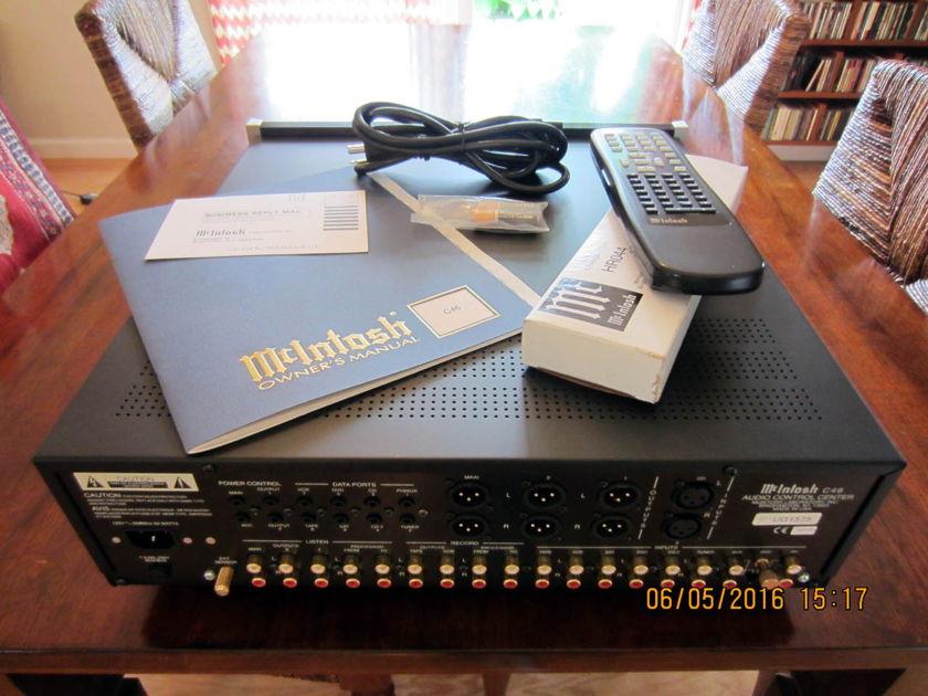 McIntosh C46 Pre-Amp (PRICE REDUCED)