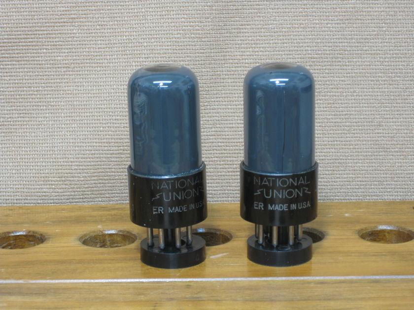National Union 6SN7 GT VT231 Matching pair