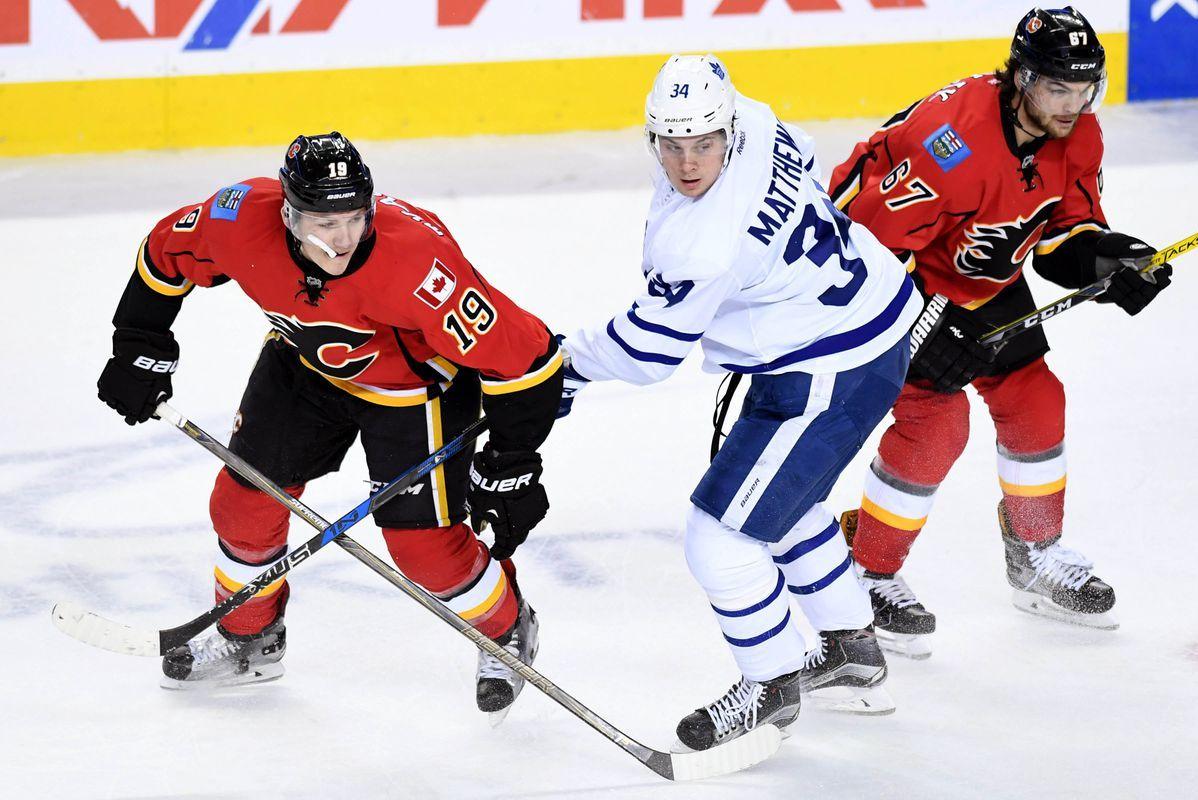 NHL Free Picks & Predictions: Calgary Flames @ Toronto Maple Leafs