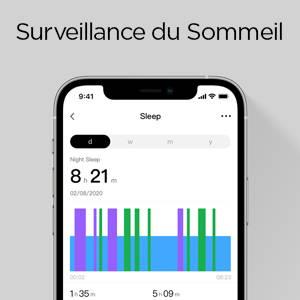 Amazfit GTS 2 mini - Surveillance de la Qualité du Sommeil