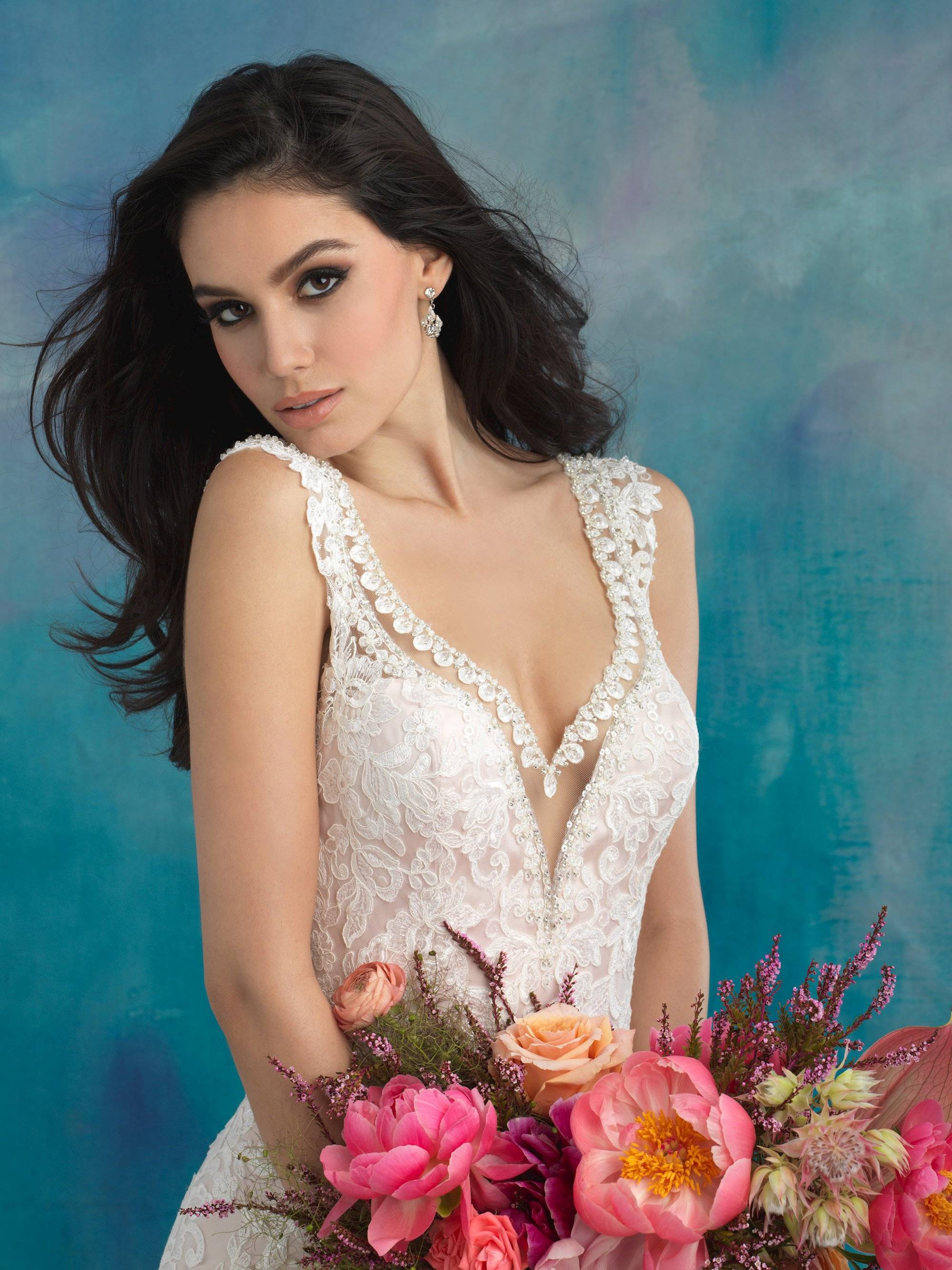 ALLURE  WEDDING DRESS 9513