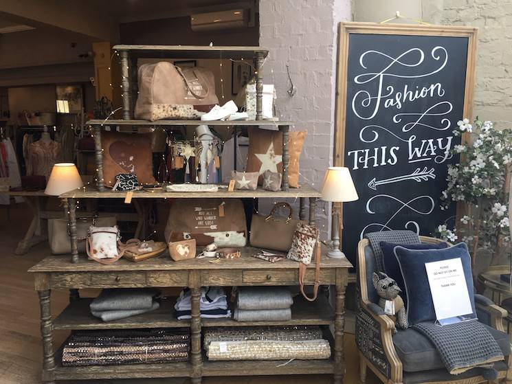 Inside Vinegar Hill Cheltenham Store