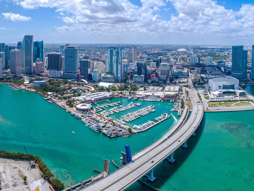 skyview of Miami