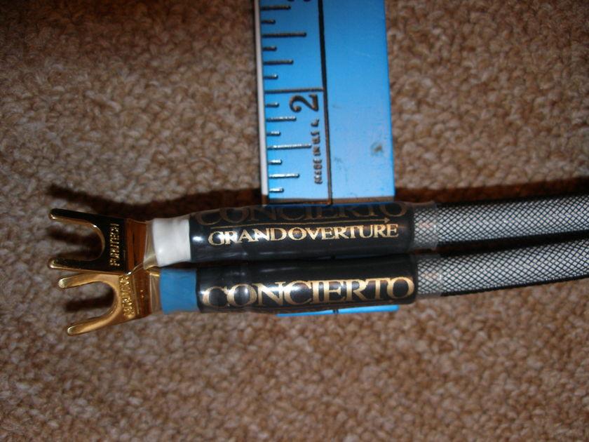 Concierto Grand Overture tri-wire speaker cable harness