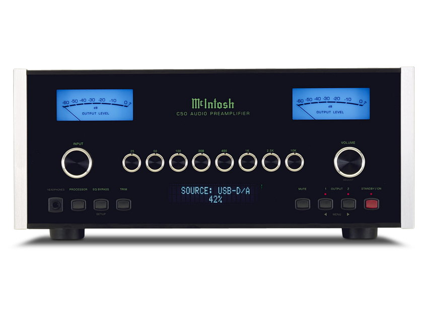 McIntosh C-50 Stereo Preamplifier New-in-Box