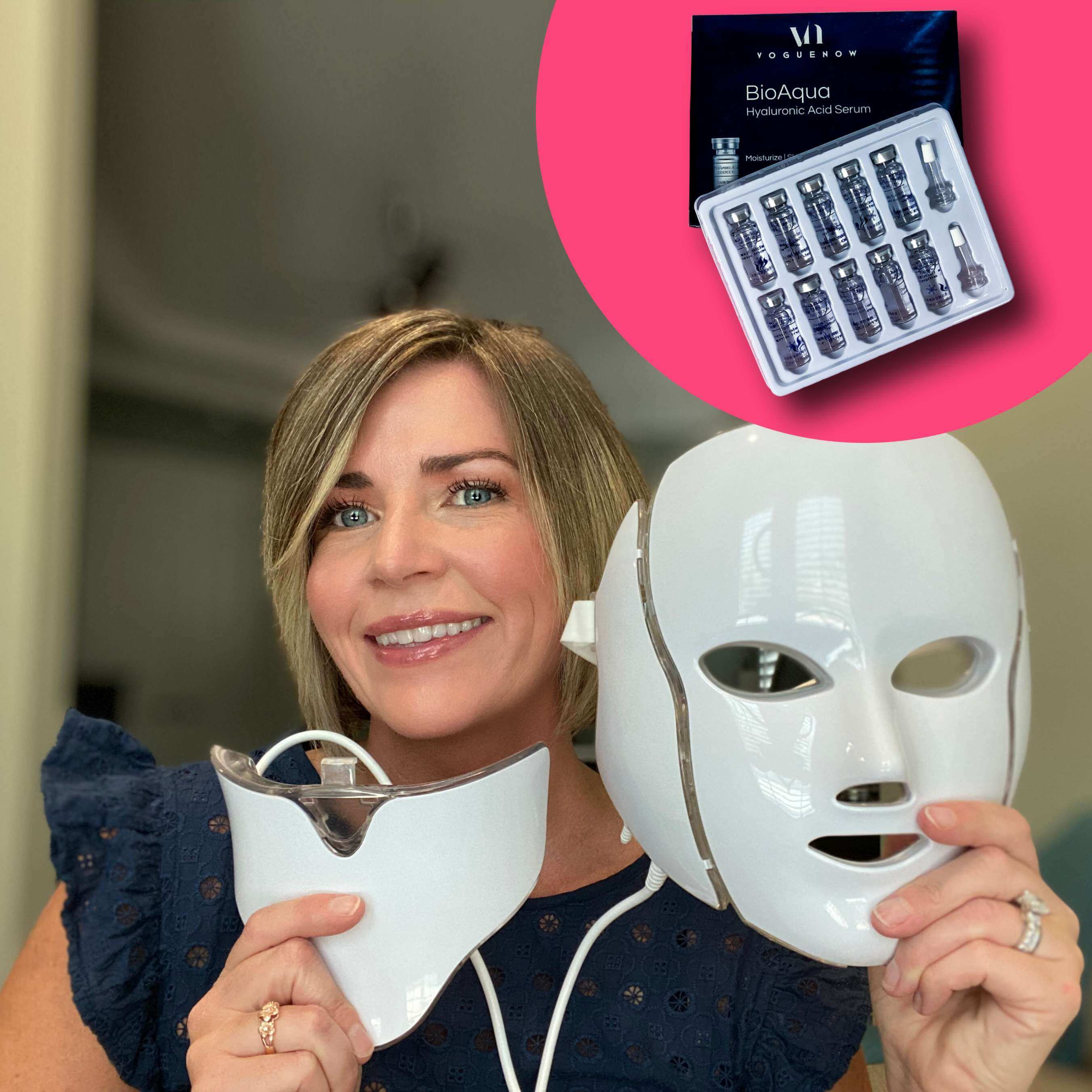Acne Light Therapy Mask
