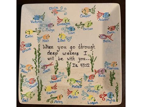 First Grade- Mrs. Macaluso- Fish Platter