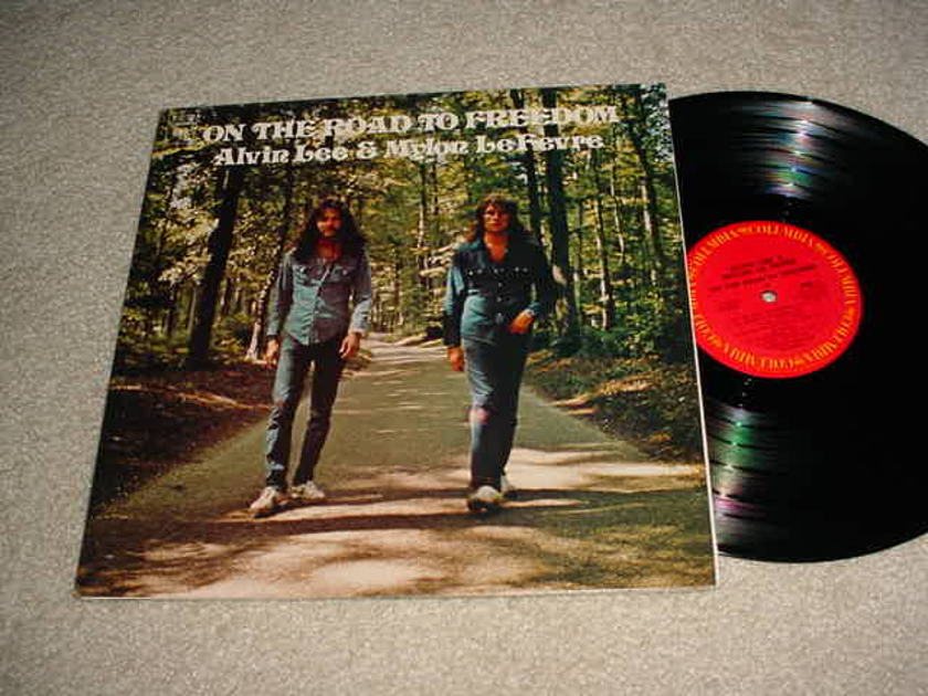 ALVIN LEE MYLON LEFEVRE - ON THE ROAD TO FREEDOM LP RECORD
