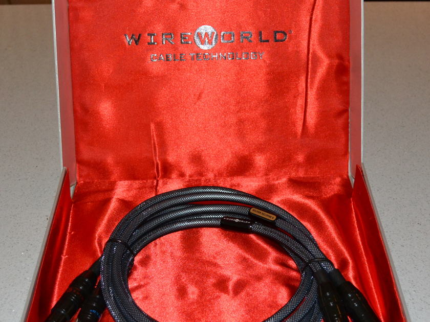 Wireworld Silver Eclipse 6 XLR 1.5 Meter Pair Excellent Cable!