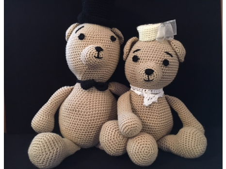 Hand Knitted Gala Bears