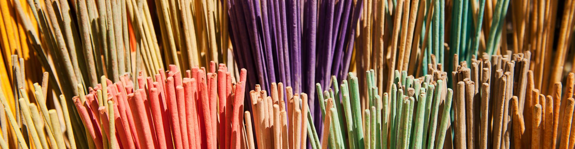 incense sticks selection