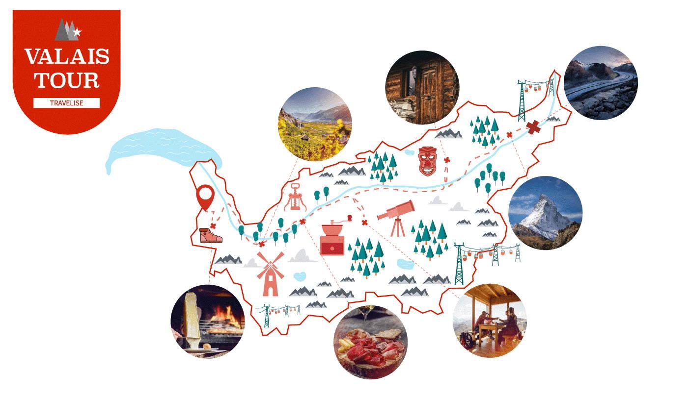 Valais-Tour by Travelise
