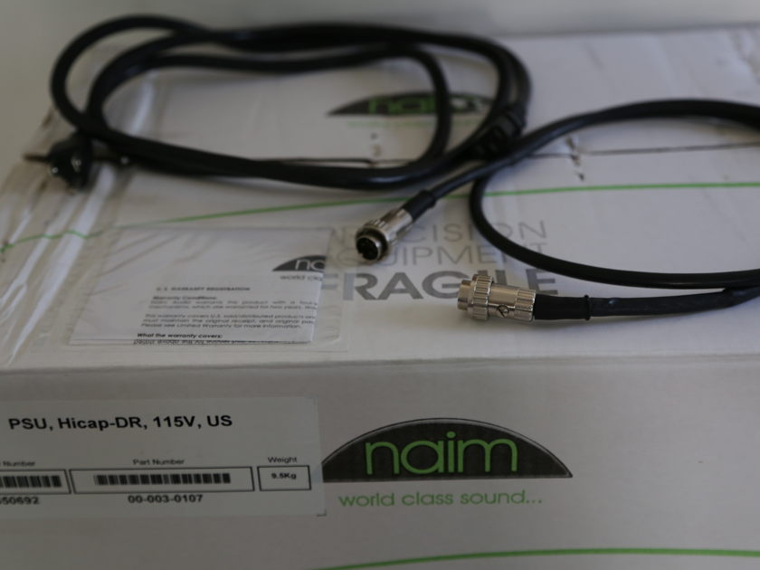 Naim Audio HiCap DR Power Supply Mint