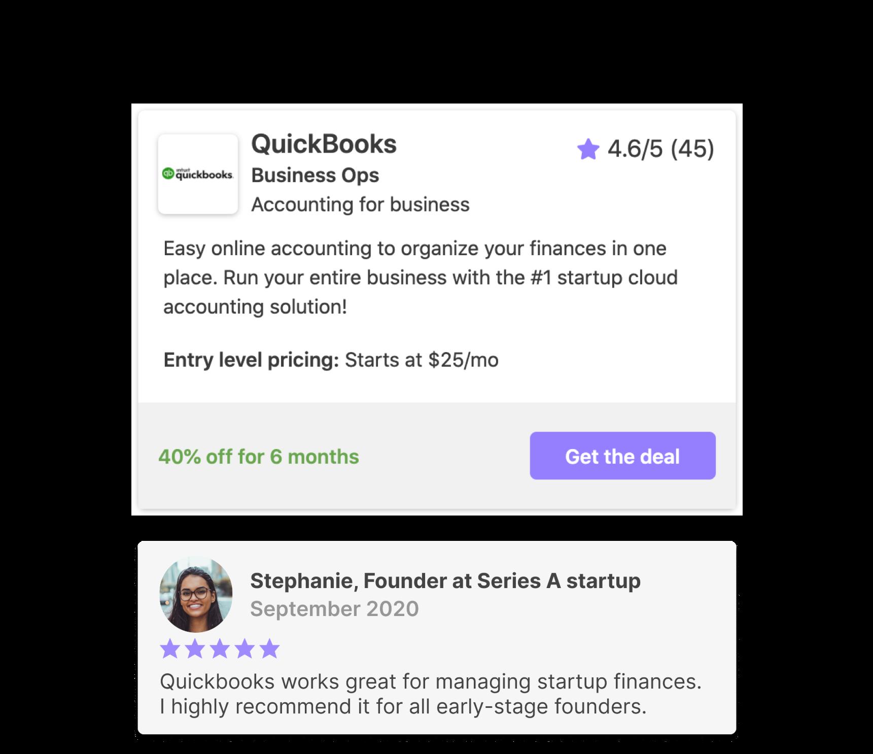 Quickbooks deal image