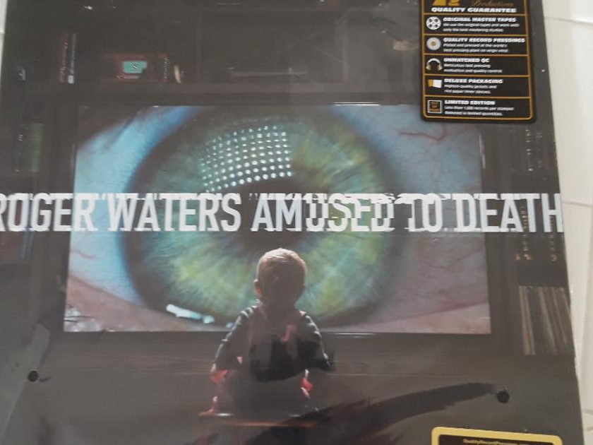 """Roger Waters - """"Amused to Death"""" 2LP 200g  set From Quality Record Pressings / Analogue Productions - New"""