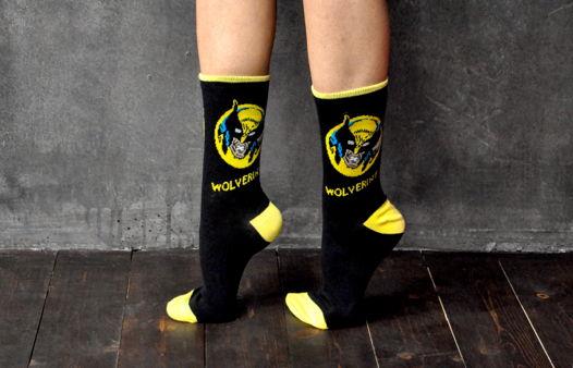 Подарочный набор носков Логан Росомаха + открытка