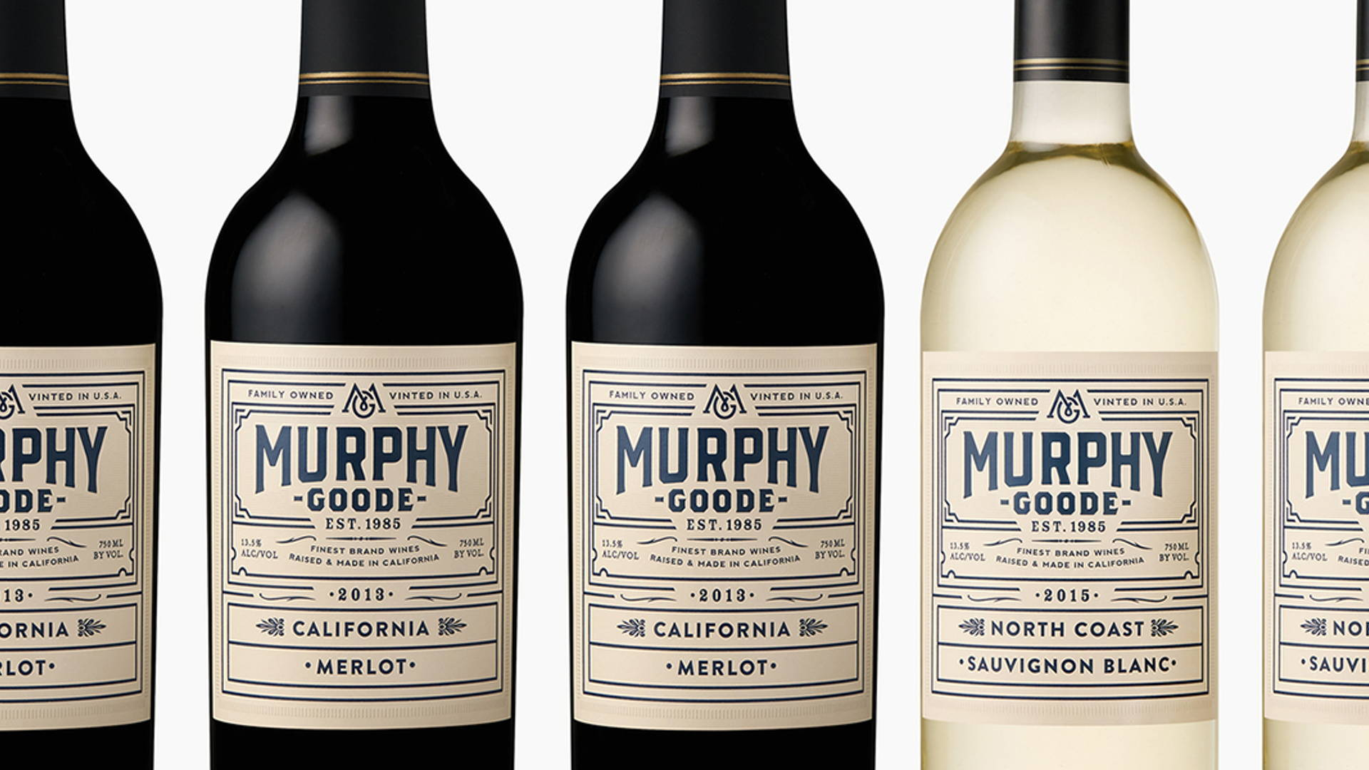 Murphy-Goode | Dieline - Design, Branding & Packaging Inspiration