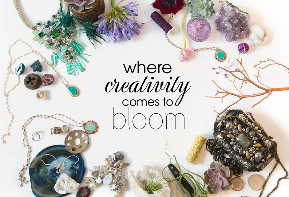 where creativity comes to bloom