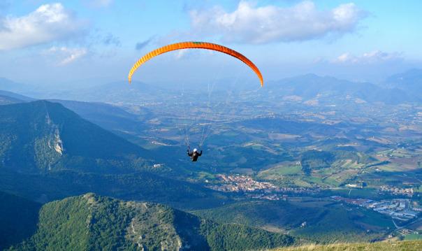 Подъем на гору Олимпос с Olympos Teleferık + полет на парашюте