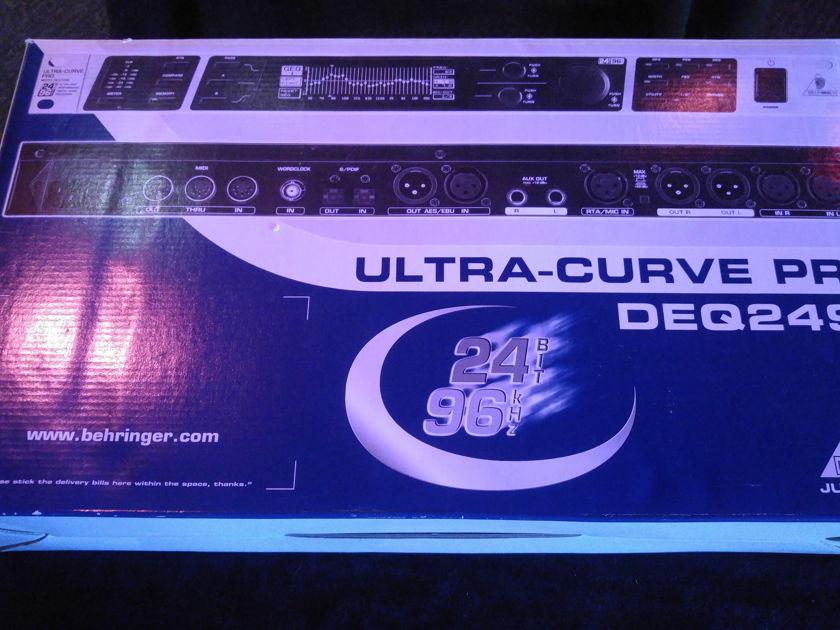 Behringer Ultra Curve Pro DEQ2496 Mastering Processor