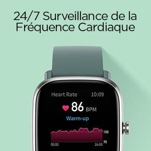 Amazfit GTS 2 mini - Surveillance de Fréquence Cardiaque