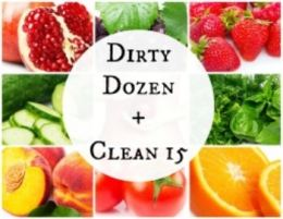 Dirty Dozen and Clean 15