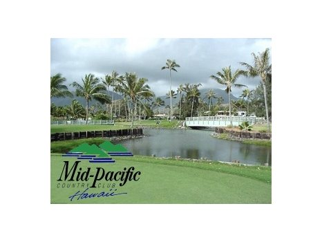Mid Pacific Country Club Lanikai Round of Golf for 4