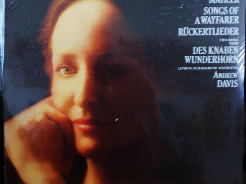 FACTORY SEALED ~ FREDERICA VON STADE ~ MAHLER ~  - SONGS OF A WAYFARER ~ RUCKERTLIEDER~ LONDON PHILHARMONIC ~  CBS MASTERWORKS M 35863 (1979)