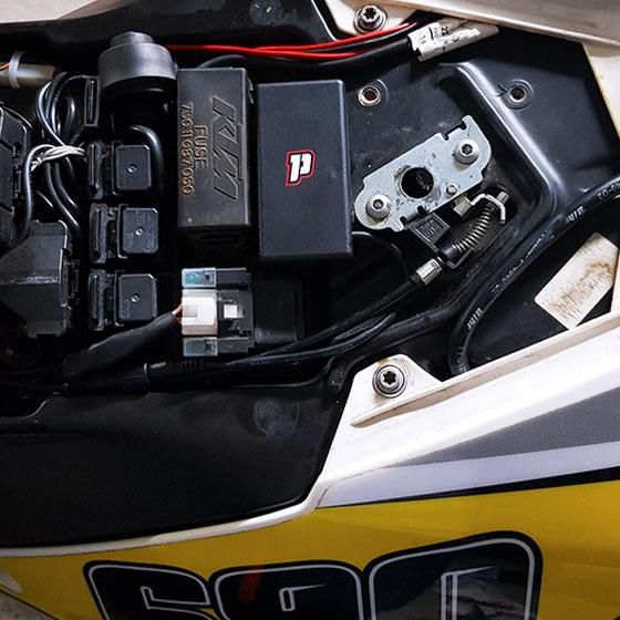 Pegase moto installation 3
