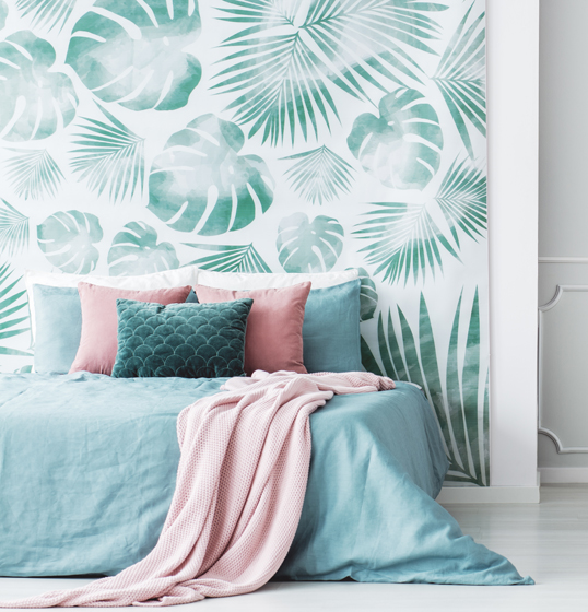 Santander - Don't be afraid to bring floral wallpaper into your interiors – read our design tips.