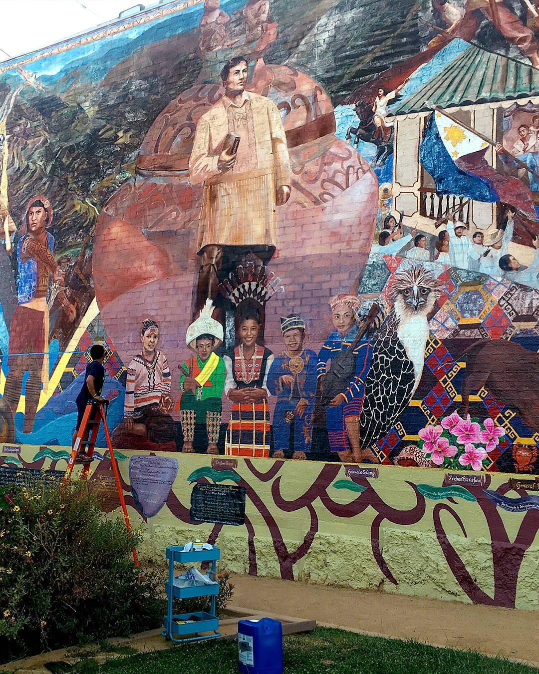 protecting and preserving mural gintong kasaysayan