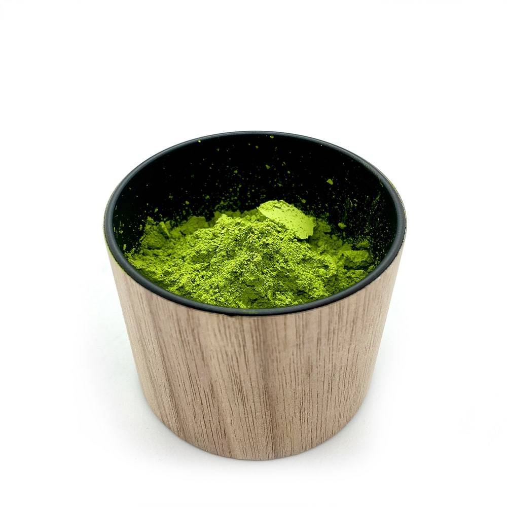 TYTE japanese made wood tea caddy