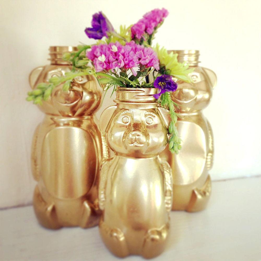 Honey Bear Vases
